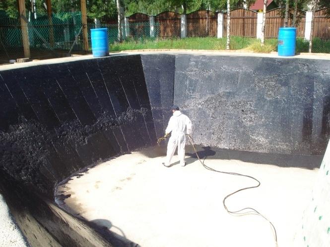 Изготовление гидроизоляции